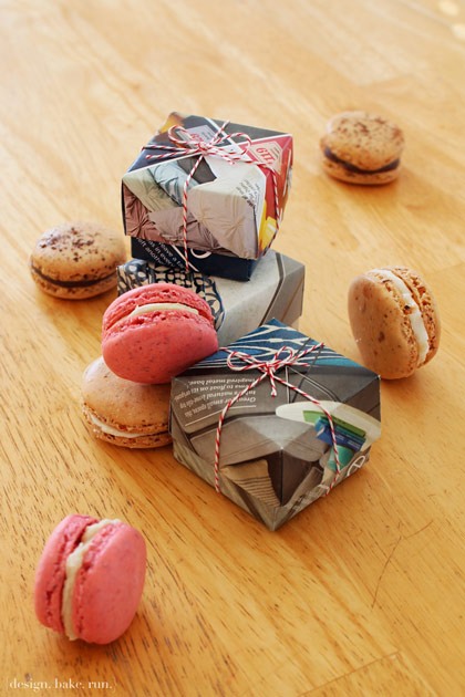 cookie packaging ideas - origami boxes