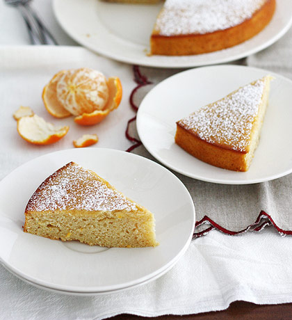 Whole Wheat Clementine Yogurt Cake