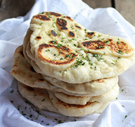 Homemade Naan from Half Baked Harvest