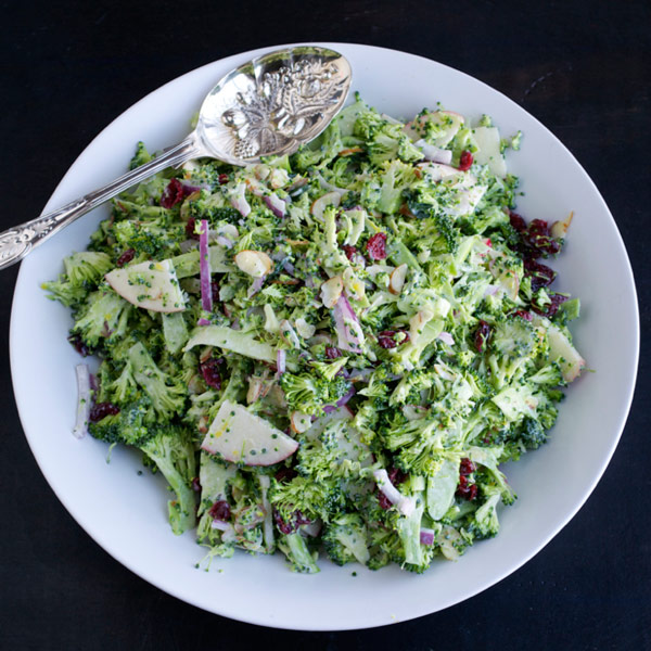 Shaved Broccoli Salad Recipe
