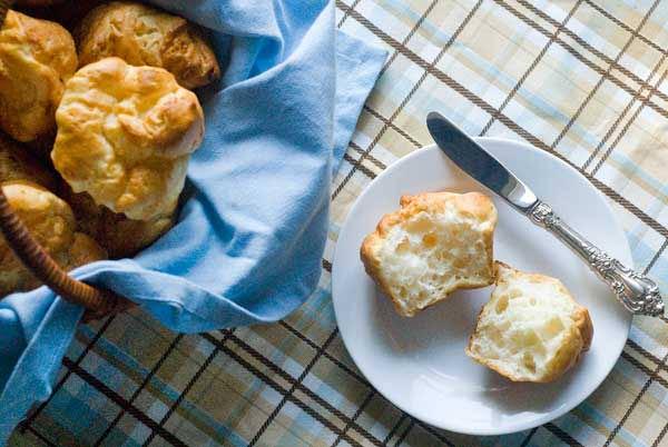 Gluten Free Soft Dinner Rolls