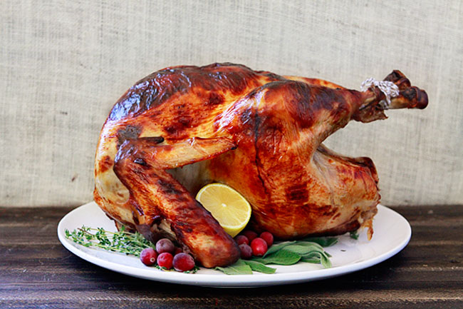 Apple Cider Sage Brined Turkey from Good Life Eats plus 9 other ...