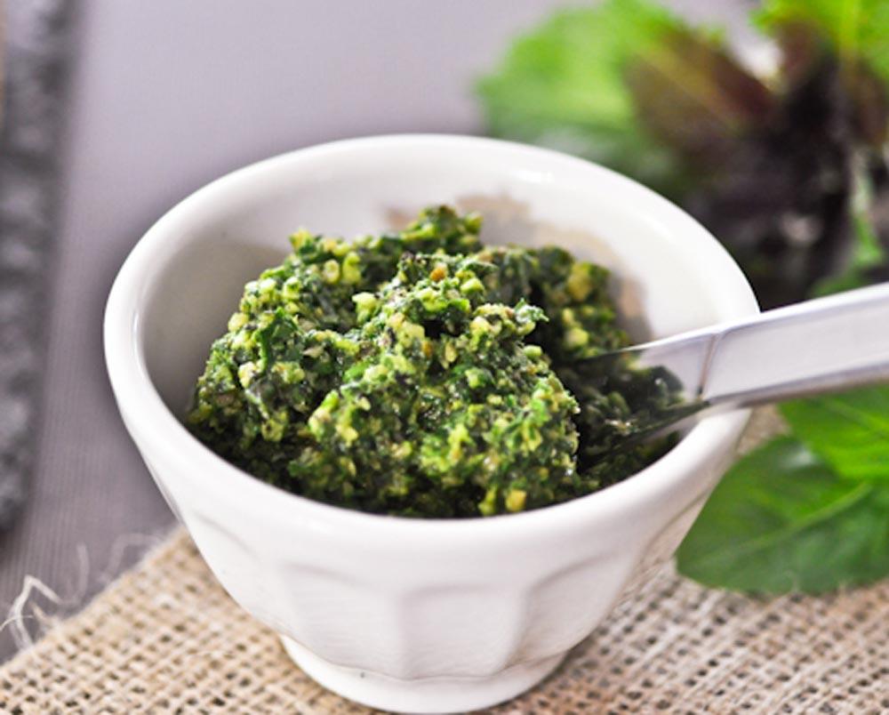 Kale Pesto | Recipes | NoshOn.It