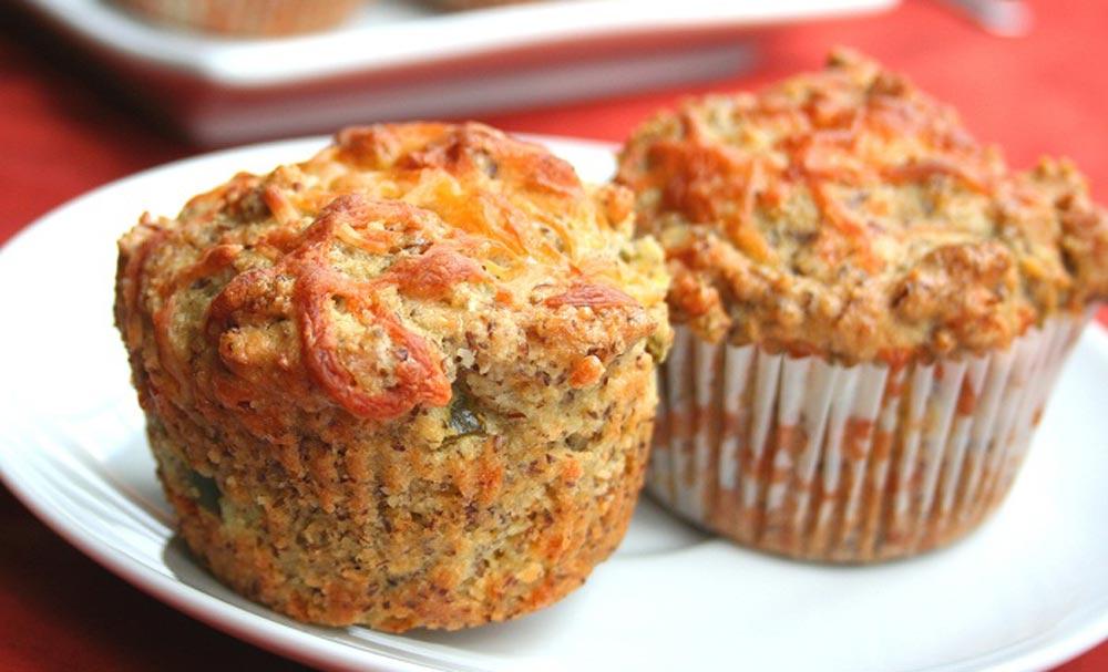 Gluten Free Cheddar Jalapeno Muffins