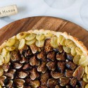 Savory Fig and Grape Tart