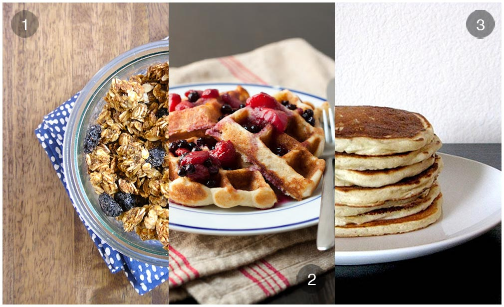 3 Gluten Free Breakfast Staples