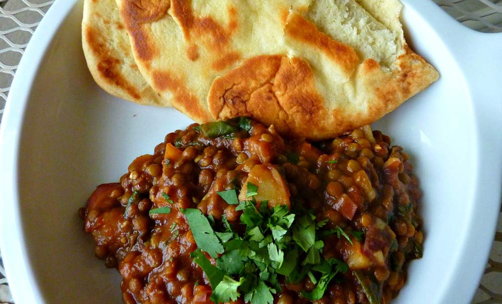 Lentil and Potato Dal