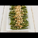 Green Beans with Lemon-Almond Pesto