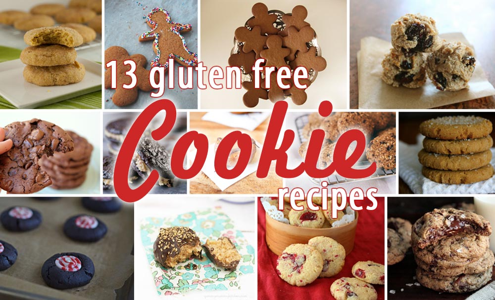 13 Gluten Free Holiday Cookie Recipes