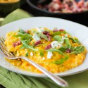 Butternut Squash Risotto with Pancetta and Chevre