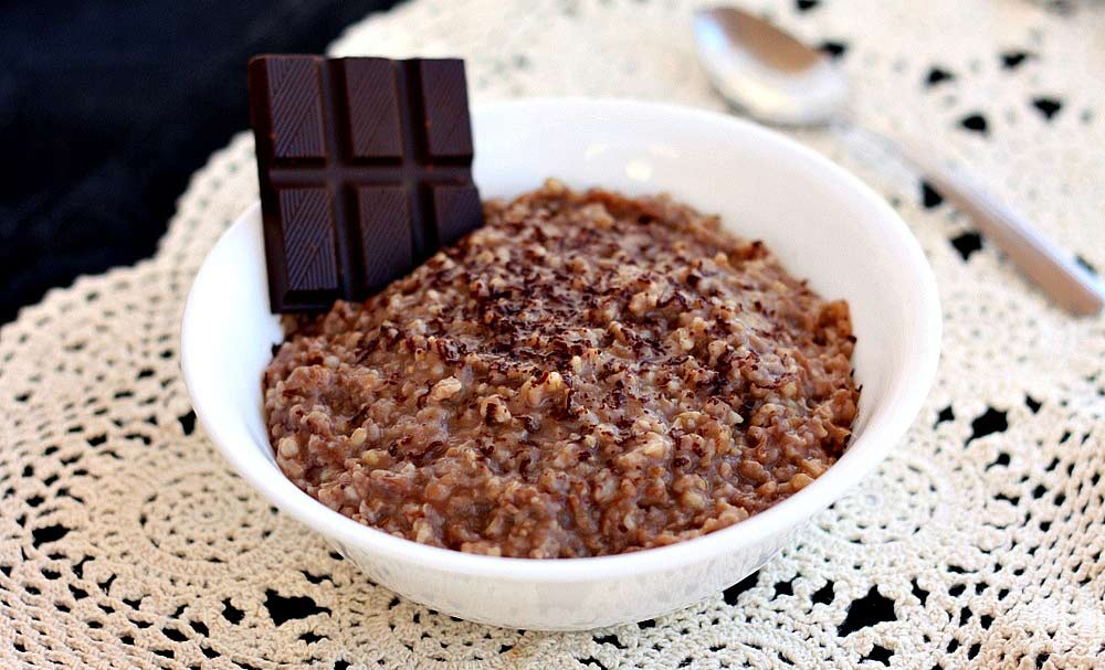 Slow Cooker Hot Chocolate Oatmeal
