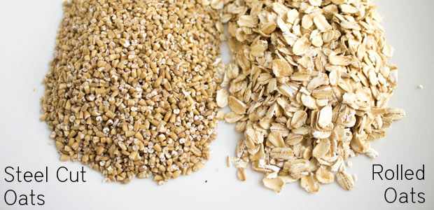 Steel Cut Oats vs. Old Fashioned Rolled Oats