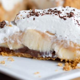 Banoffee Surprise Pie