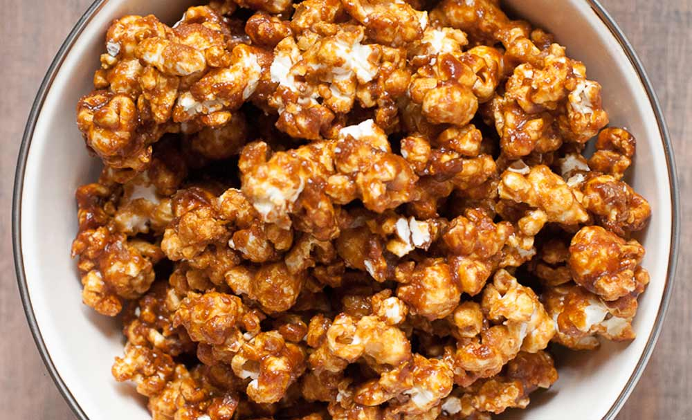 I loved this image of popcorn recipe