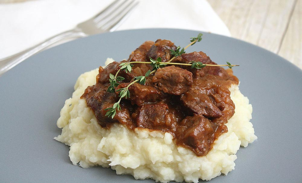 Carbonnade - Belgian Beef, Beer, and Onion Stew