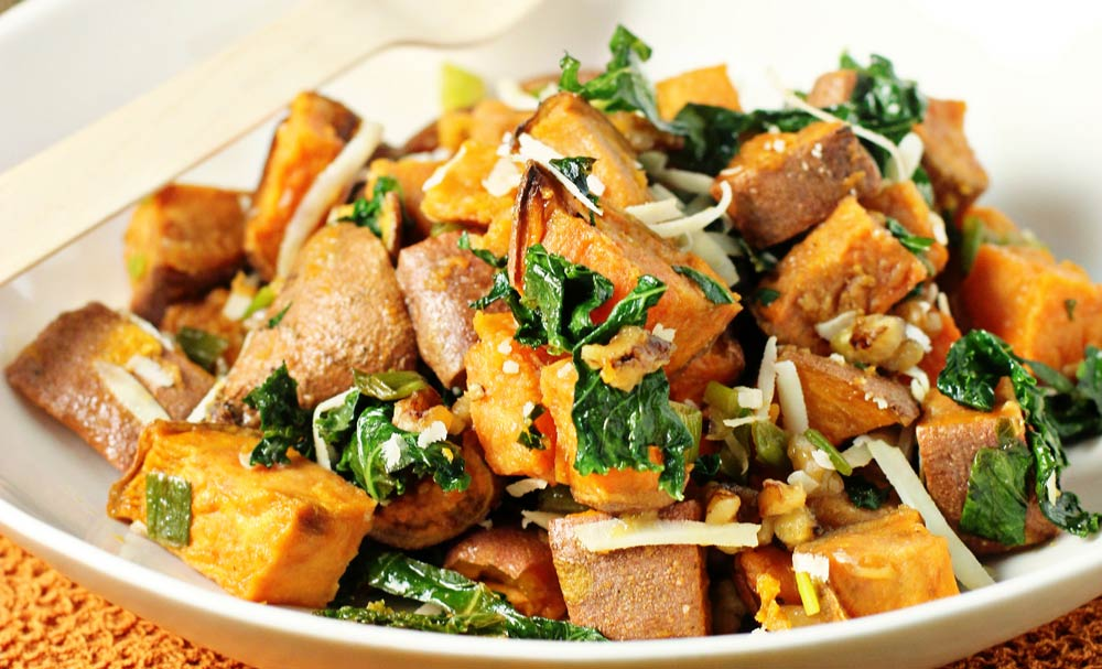 Roasted Sweet Potato Salad | Recipes | NoshOn.It