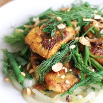 Chả Cá Thăng Long – Vietnamese Style Fish with Turmeric & Dill