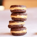 Homemade Peanut Butter Filled Oreos