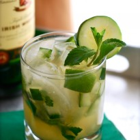 Green Whiskey Smash