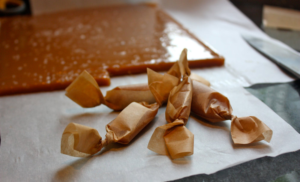 Soft Salted Caramels | Recipes | NoshOn.It