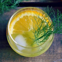 Fennel and Orange Cocktail