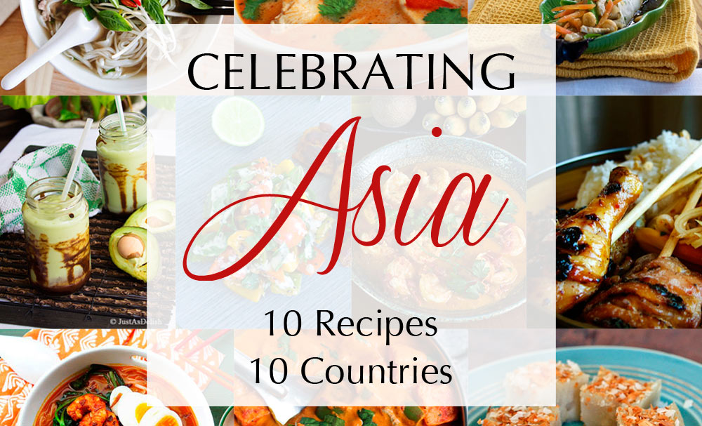 Celebrating asia 10 recipes from 10 countries recipes for Asia oriental cuisine