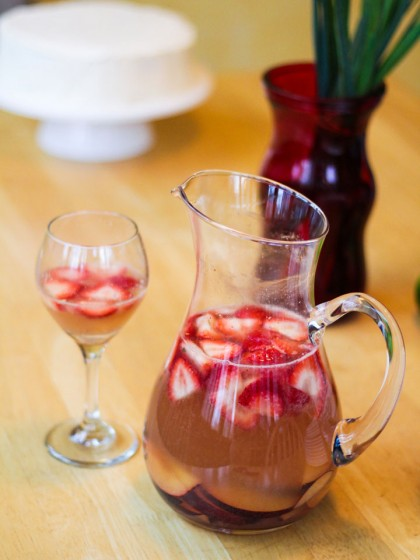 Sparkling Cava Sangria | Recipes | NoshOn.It