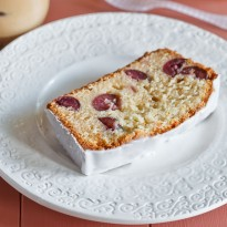 Cherry and Marzipan Pound Cake