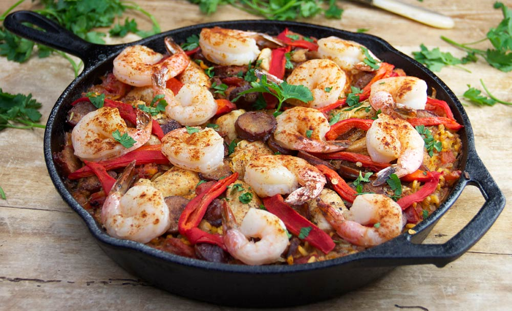 Easy Spanish Paella | Recipes | NoshOn.It
