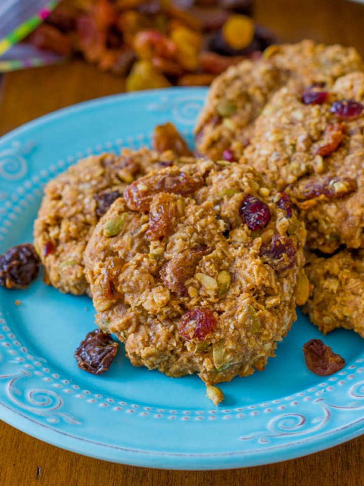 Gluten-Free Breakfast Cookies Recipe With Oats Recipes — Dishmaps