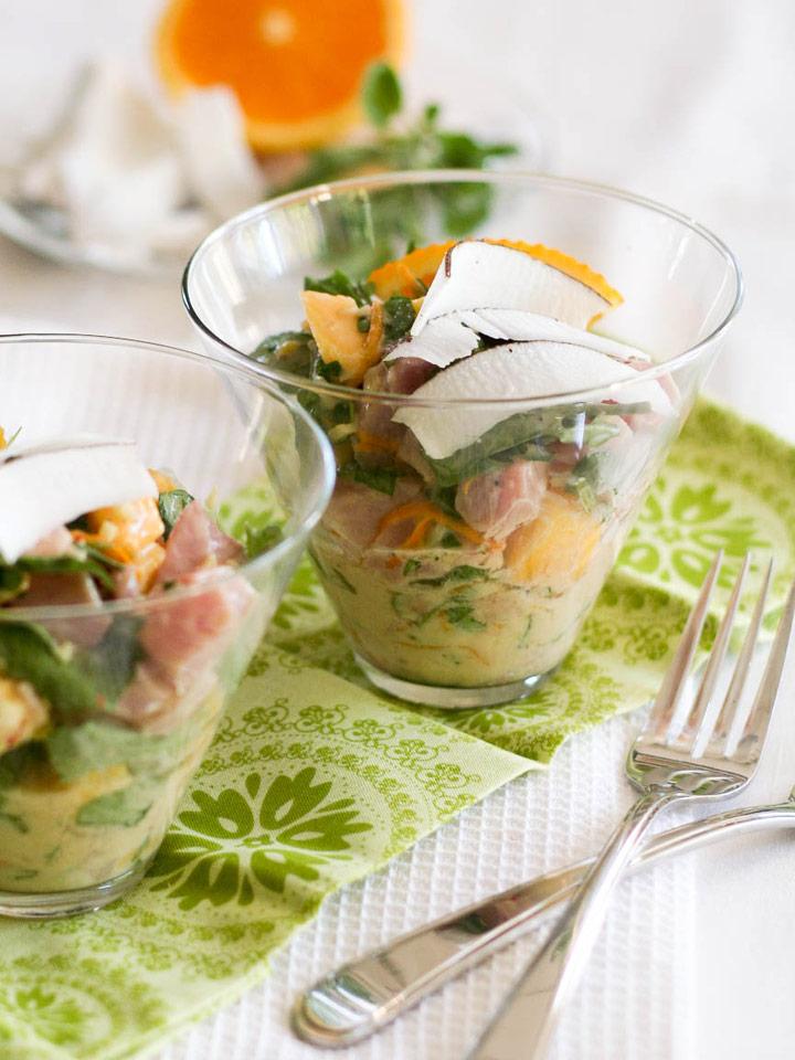 Tropical Tuna Ceviche | Recipes | NoshOn.It