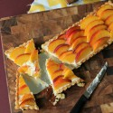 Gluten Free Peach Amaretto Tart