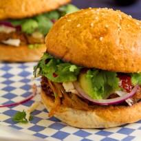 Cemita - Mexican Pulled Pork Sandwich