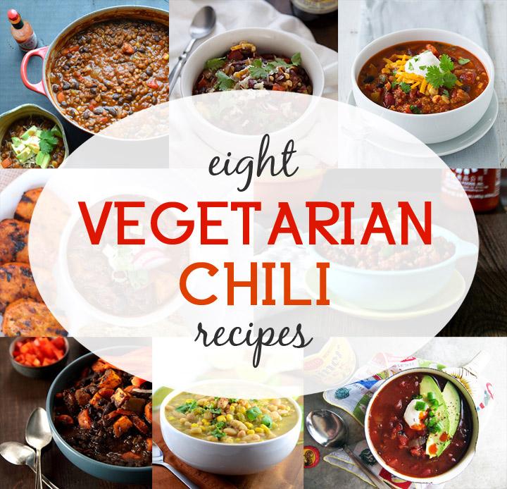 Easy quick vegetarian chili recipe