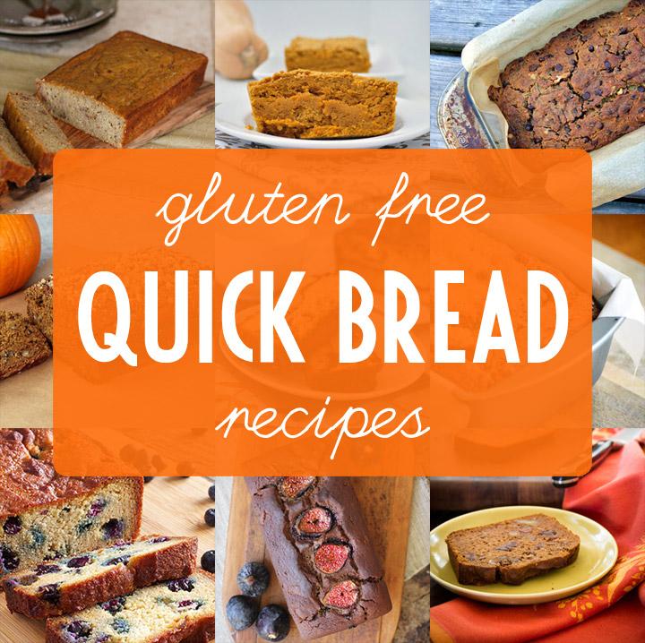 9 Gluten Free Quick Bread Recipes