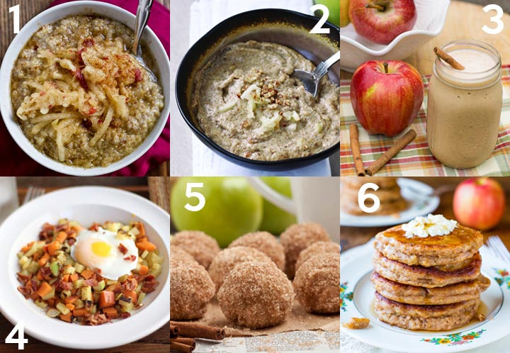 Apple Recipes for Breakfast plus over 40 other apple recipes