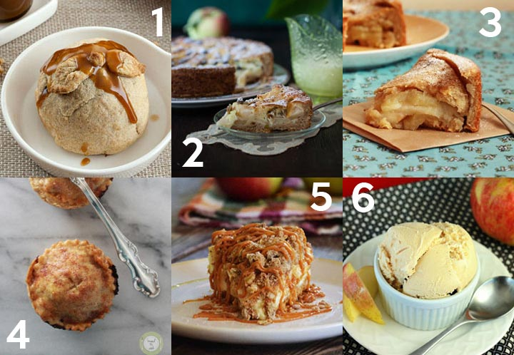 Dessert Recipes with Apples plus over 40 other apple recipes