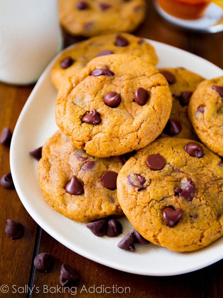 Pumpkin Chocolate Chip Cookies | Recipes | NoshOn.It