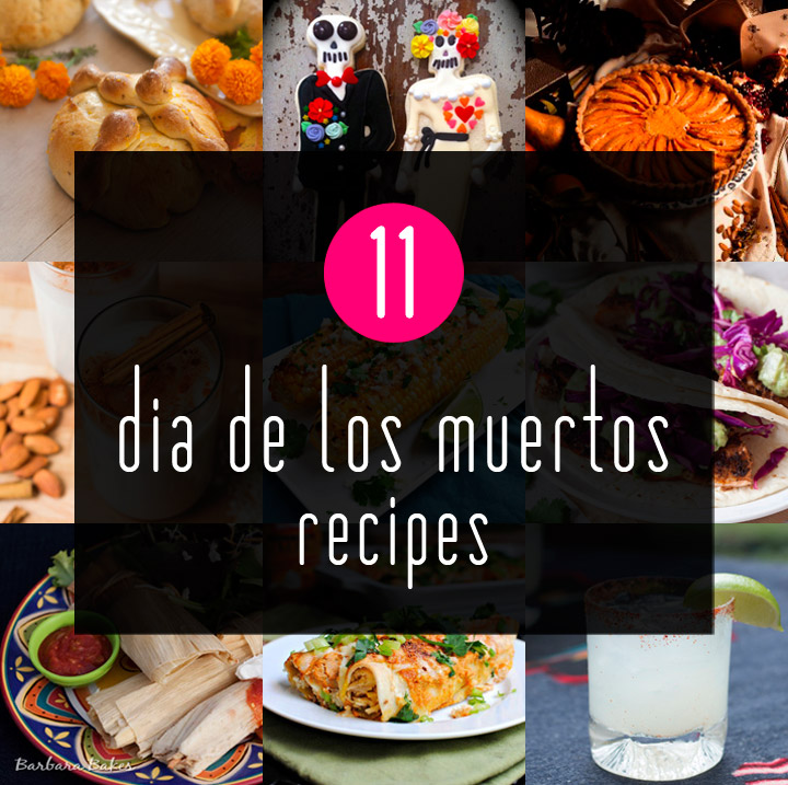 Dia De Los Muertos Traditional Food Recipes