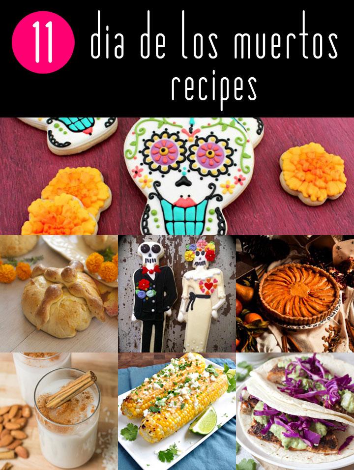 Dia de Los Muertos Recipes