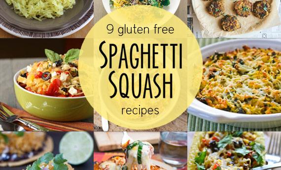 9 Gluten Free Spaghetti Squash Recipes