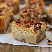 Pecan Pie Magic Cake Bars