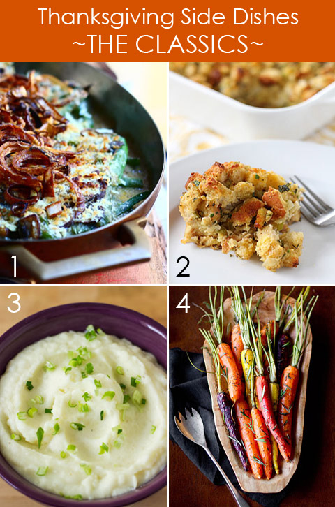 Thanksgiving Side Dishes - The Classics