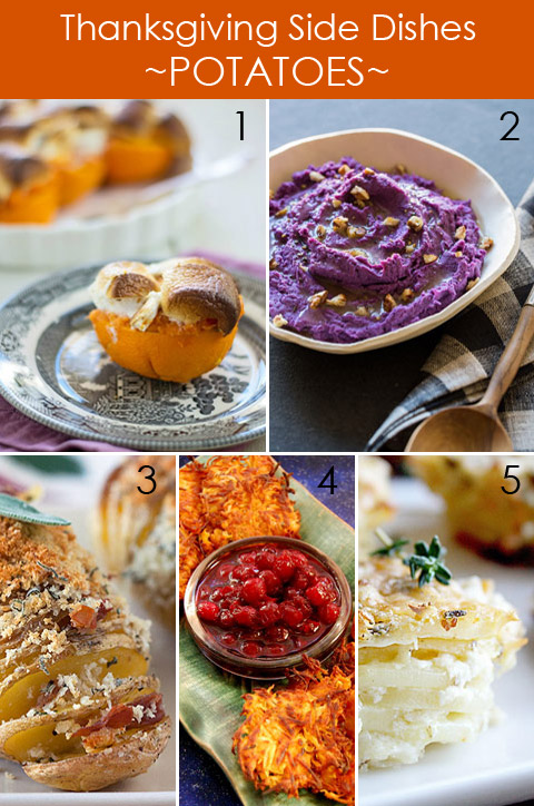 Thanksgiving Side Dishes - Root Vegetable Recipes