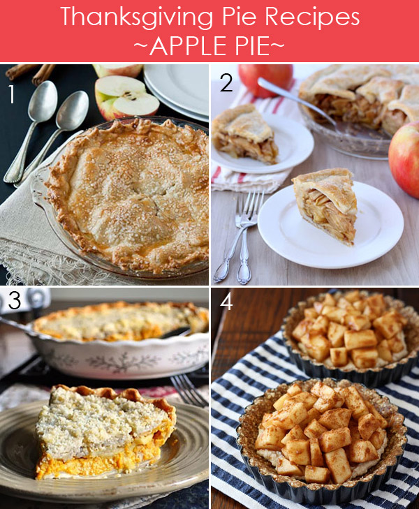 Thanksgiving Apple Pie Recipes plus 25 more delicious pies for Thanksgiving