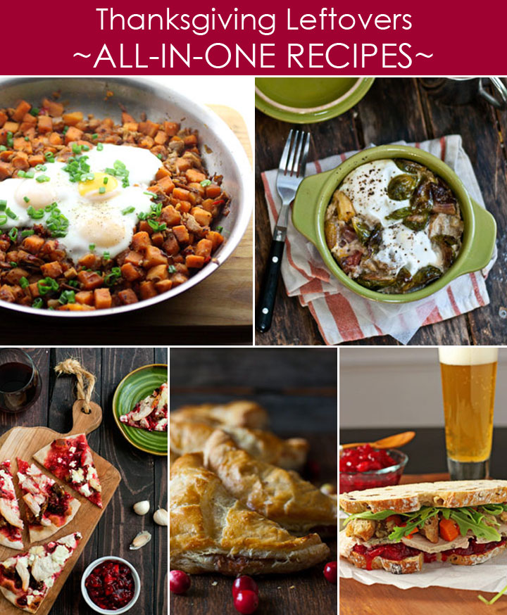 All-in-One Thanksgiving Leftovers Recipes plus 20 other ways to use leftovers