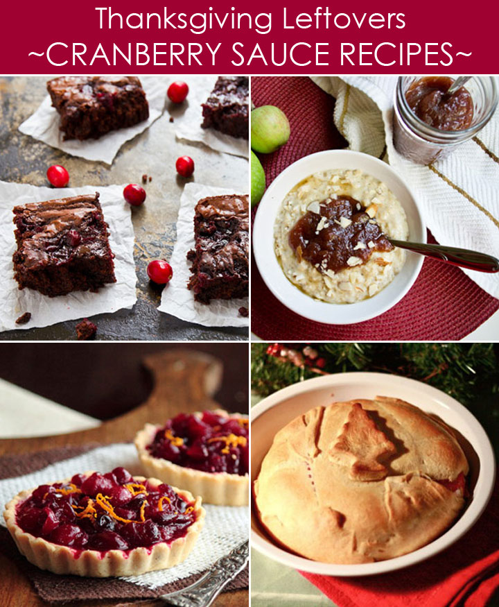 Thanksgiving Leftovers Recipes with Cranberry Sauce plus 20 other ways to use leftovers