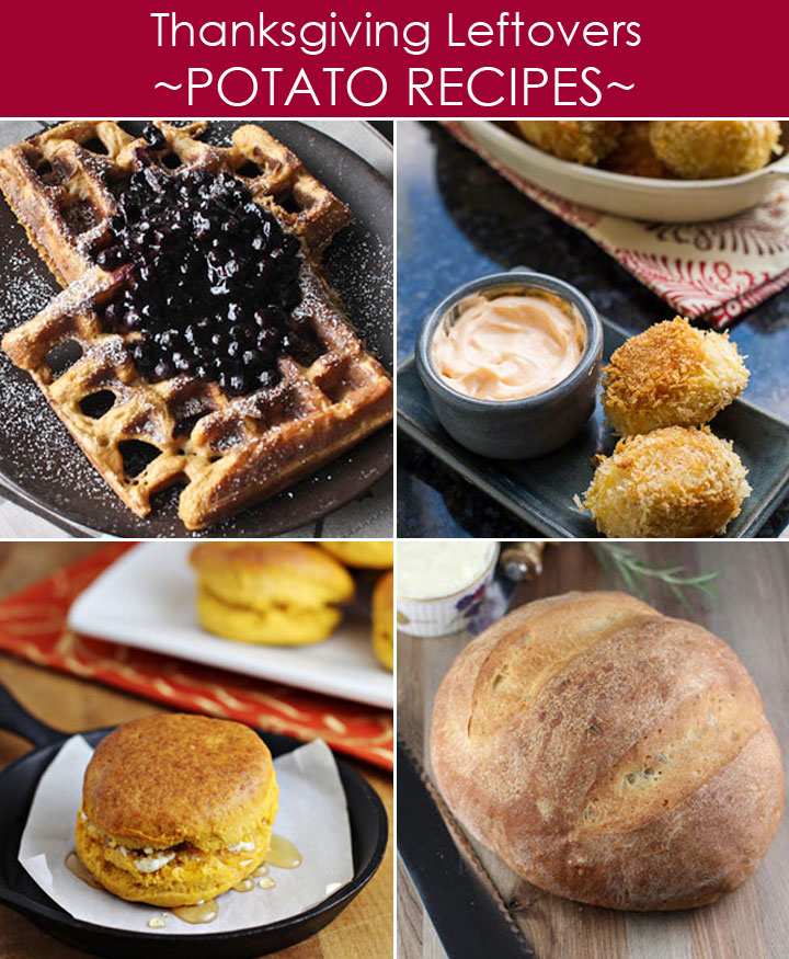 Thanksgiving Leftovers Recipes with Mashed and Sweet Potatoes plus 20 other ways to use leftovers