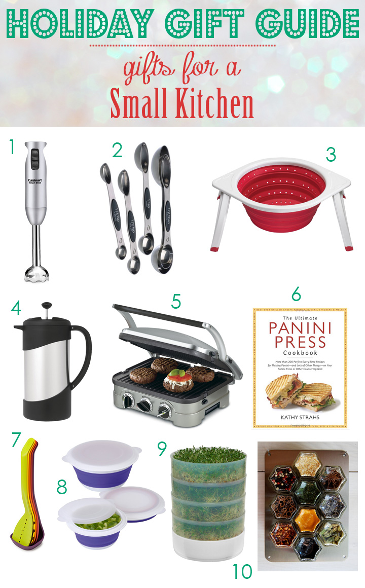 holiday gift guide gifts for a small kitchen blog noshon it