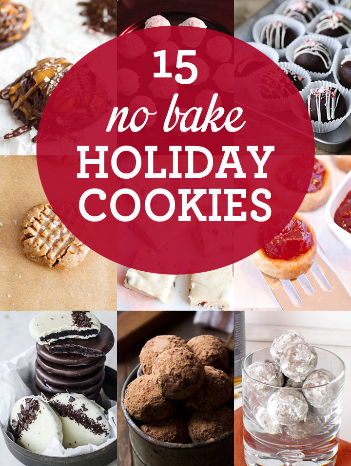 15 No Bake Holiday Cookie Recipes